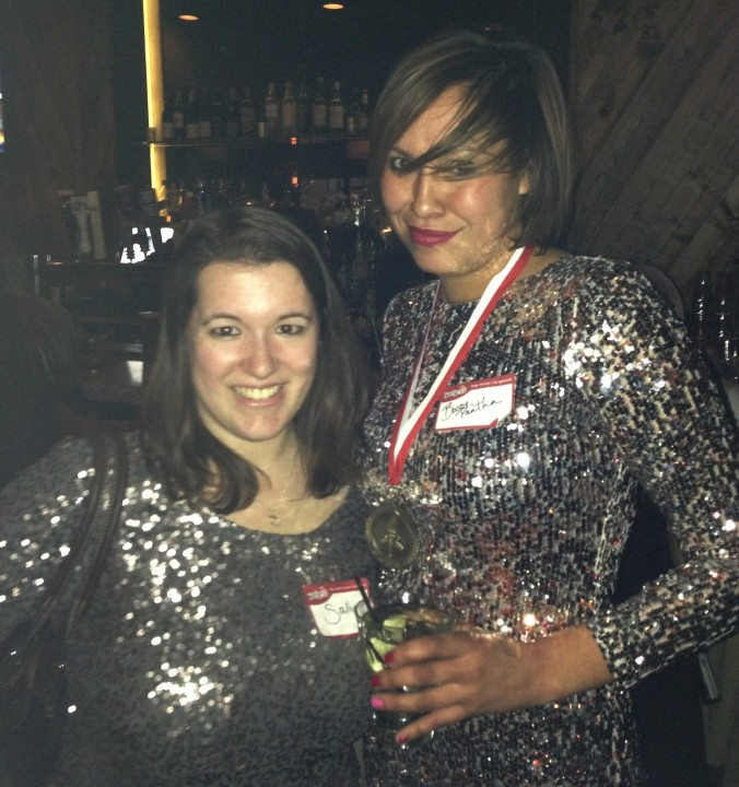 Silver sequins for the win!