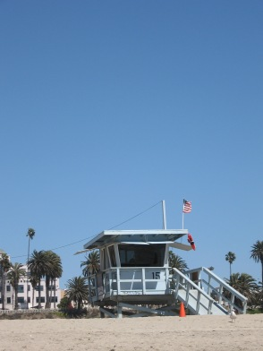 Actual OC beach shack, circa spring 2008, my first time visiting the West Coast